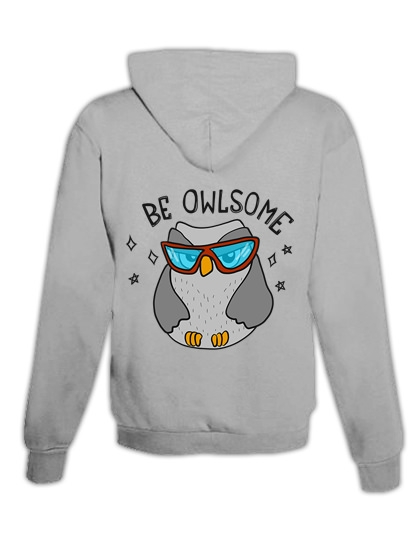 "Hoodie ""Be Owlsome"""