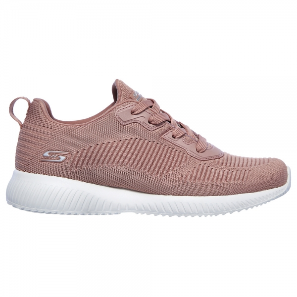 Skechers Bobs Squad Tough Talk Blush